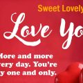 Collection of sweet SMS for lovers for You
