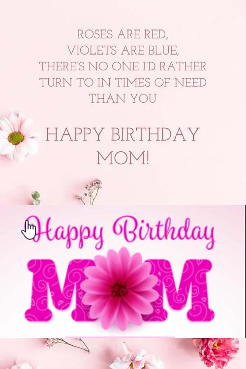 20 Happy Birthday Messages to Mom & all your Loved Ones