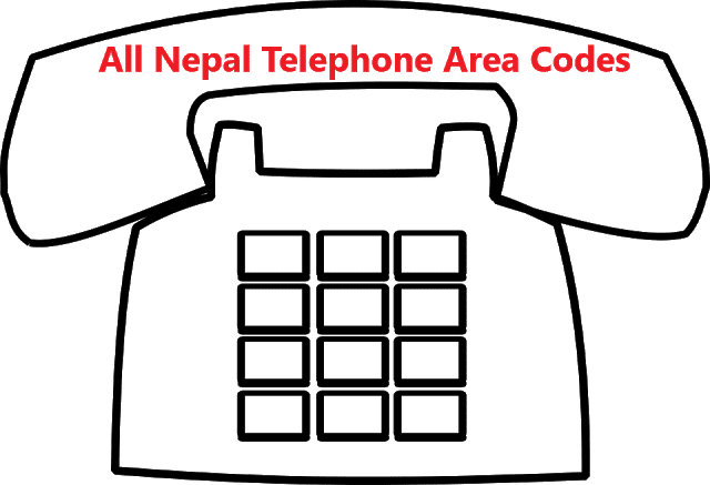 Get all Nepal Area Codes for Local telephone