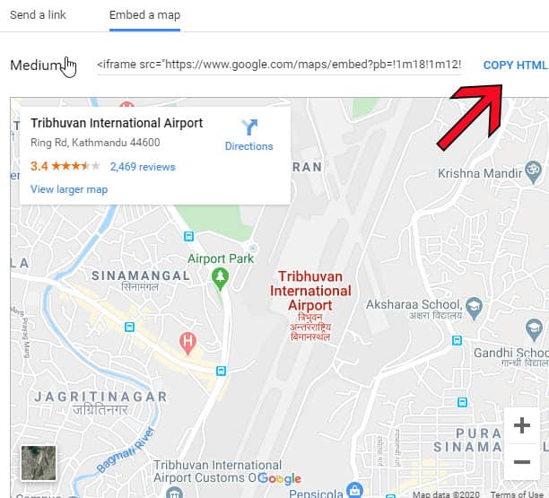 how to add google maps live on your website