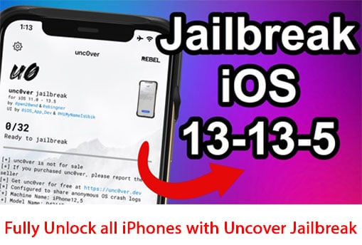 Fully Unlock all iPhones with Uncover Jailbreak