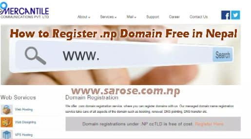 How to Register .np Domain Free in Nepal