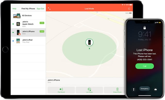Find your Lost iPhone and delete personal data Easily