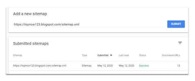 How to Generate Sitemap in blogger site & Google sitemap Submit ?