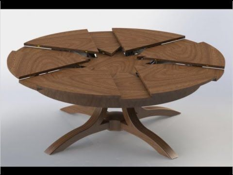Round extendable dining tables for small living rooms