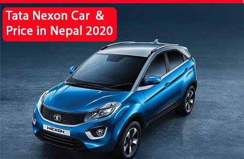 Tata Nexon Car and Price in Nepal 2020
