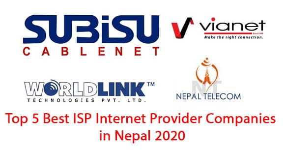 Top 5 Best ISP Internet Provider Companies in Nepal 2020