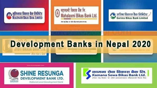 Development Banks in Nepal 2020