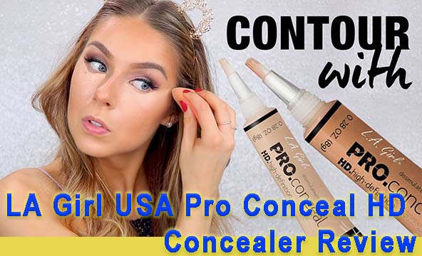 LA Girl USA Pro Conceal HD Concealer Review