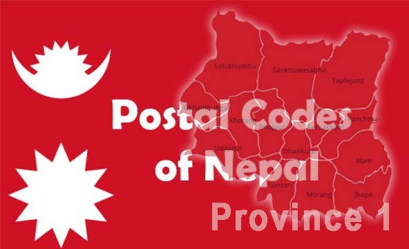 Postal Codes of Nepal Province 1