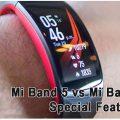 Xiaomi Mi Band 5 vs Mi Band 4 Special Features
