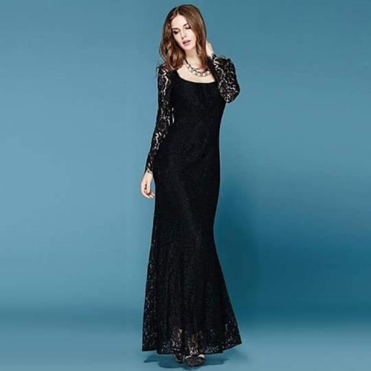 Black Maxi dress for girls