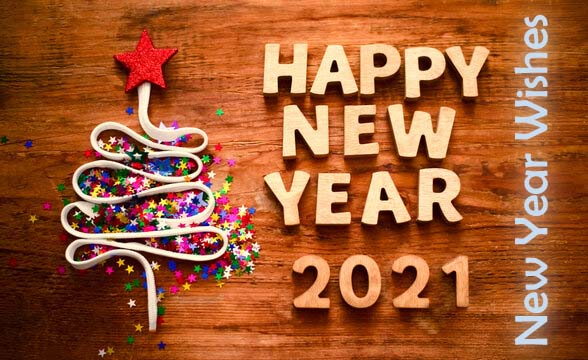 New Year Wishes for the Happy New Year 2021
