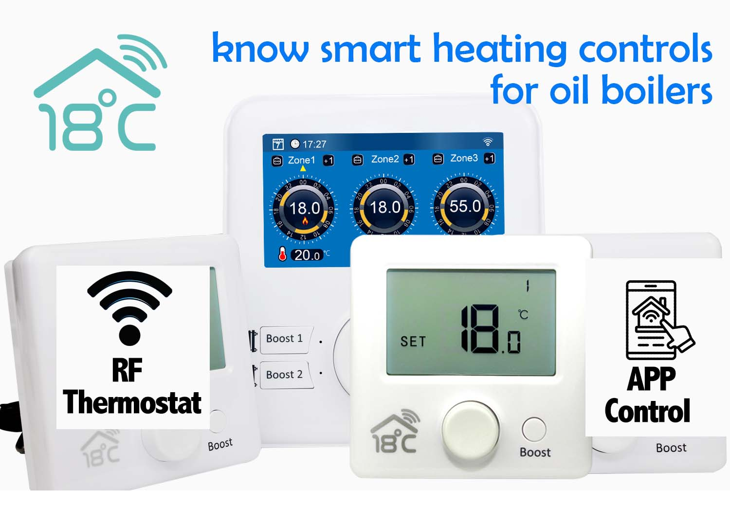 smart heating controls for oil boilers