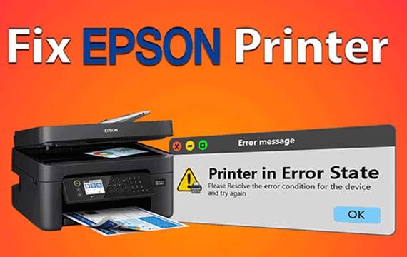 Tips to Fix Epson printer error state