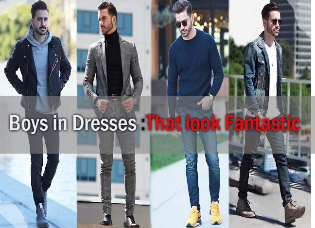 Top Clothes for Boys in Dresses That look Fantastic