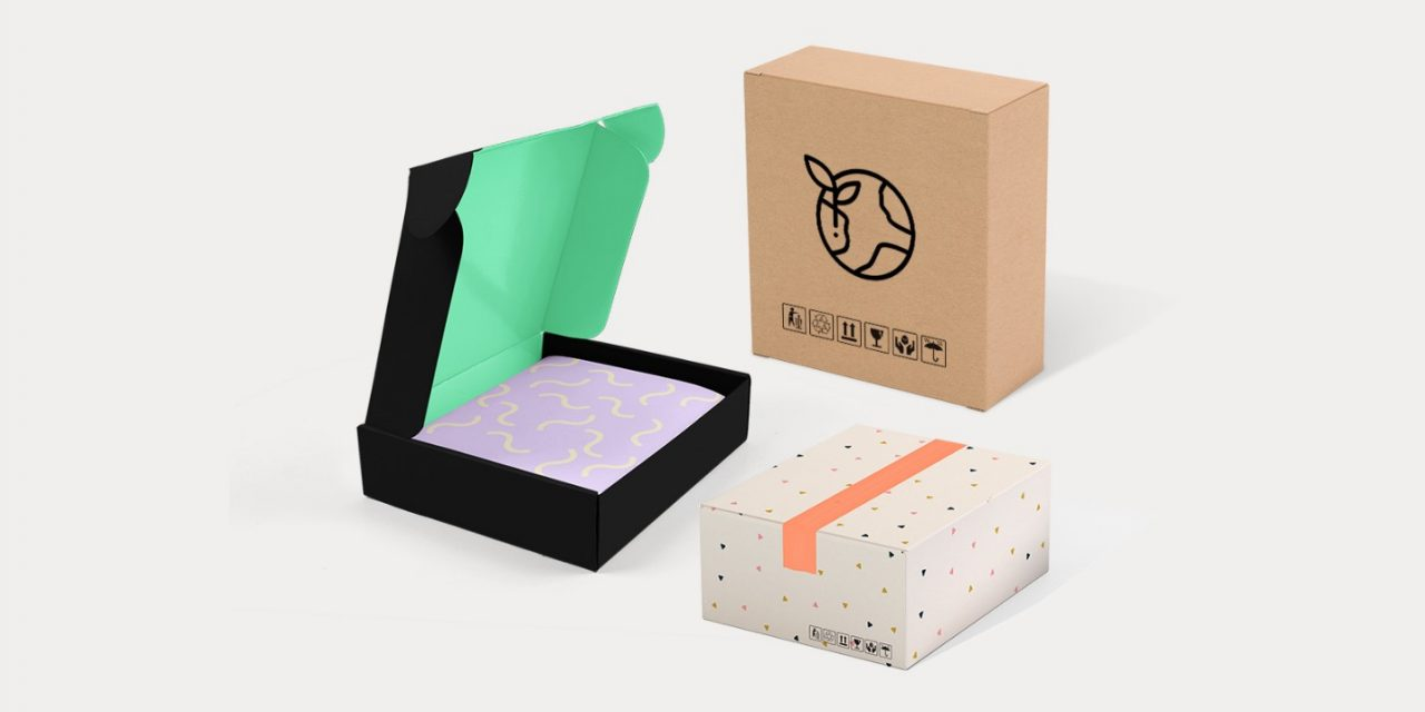 kraft boxes with window