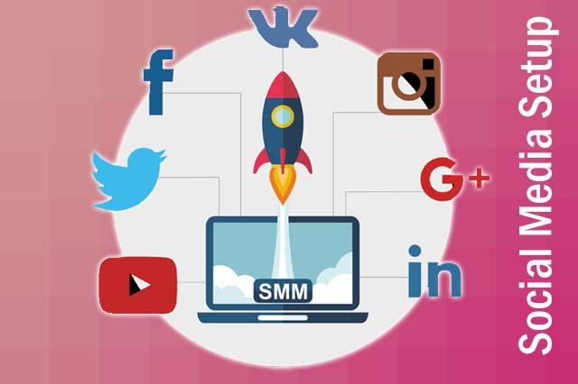 top recents social media setup