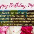 Mom Happy birthday messages