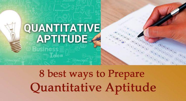 prepare Quantitative Aptitude